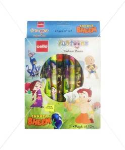 Cello Funtoons Chhota Bheem Colour Pens by StatMo.in