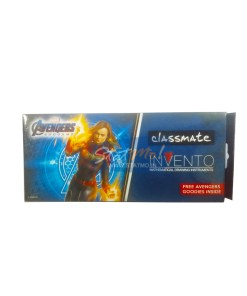 Classmate Invento Captain Marvel Mathematical Drawing Instruments Box by StatMo.in