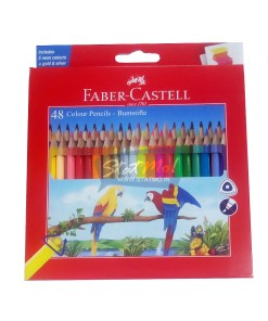 Faber Castell Colour Pencils 48 Shades by StatMo.in