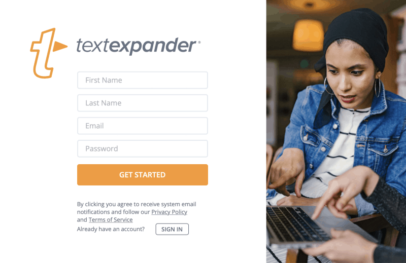 StatNote partners with TextExpander® to provide and use our templates. First you need to create an account with TextEpander. If you don't have a TextExpander® account click here to create one.