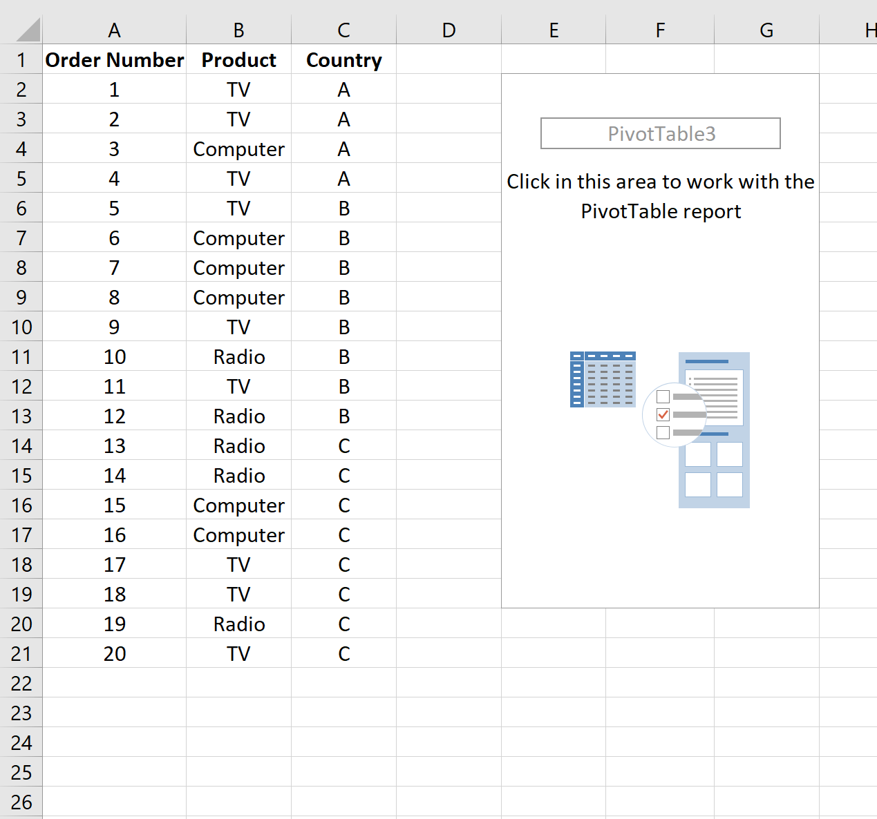 How To Create A Contingency Table In Excel