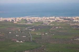 Manfredonia-vista-dal-Gargano