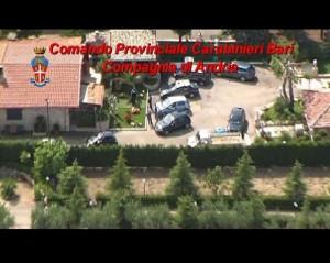 Immagine d'archivio, operazione carabinieri