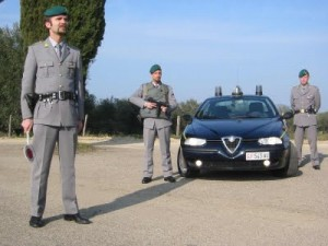 Immagine d'archivio, militari della Finanza Manduria