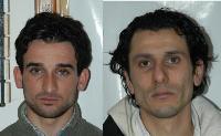 I due arrestati, Russo e Ferraro
