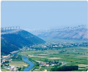 Impianto Eolico in Lezhe-Albania (da GruppoMarseglia.it)