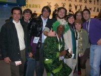 Meeting Giovani di Bari, il gruppo di Governiamo Foggia (Piero Ferrante e Carmine Belmonte al centro)