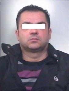 Segnaletica dell'arrestato Pasquale Di Noia