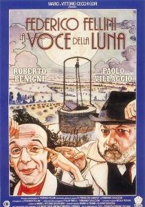 Locandina 'La Voce della Luna' di F.Fellini