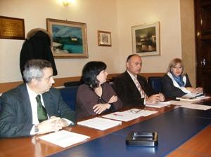 Foggia, conferenza Comune-Aipa (immagine di N.Saracino)