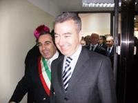 Inaugurazione commissariato Cerignola, A.Mantovano (image N.Saracino)