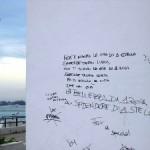 vandalismo (immagine M.P.Telera)