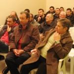 Michele Salatto incontra i lavoratori Ataf (immagine d'archivio)