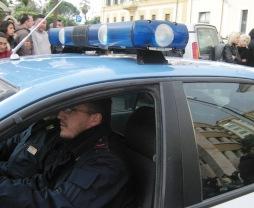 Una volante della Mobile, immagine d'archivio