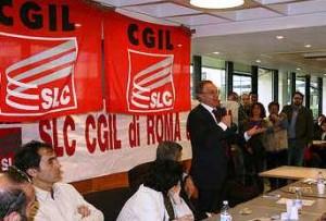 Congresso Cgil, immagine d'archivio