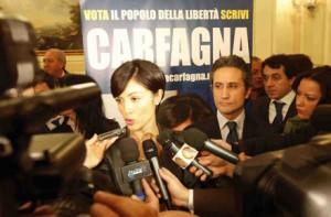 Mara Carfagna, interviste