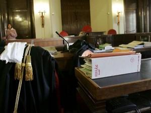 Aula tribunale, archivio (webstorage.mediaon.it)