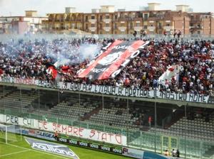 Stadio Zaccheria, tifosi del Foggia (copyright Stato)