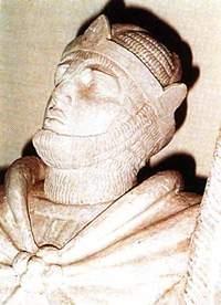 Busto Roberto Il Guiscardo (immagine d'archivio)