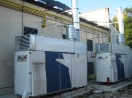 Esempio cabine principali di decompressione