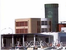 Un impianto fotovoltaico sul nuovo mercato ittico (immagine d'archivio)