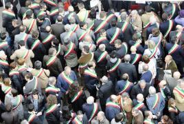 Proteste a Milano, sindaci Anci (immagine d'archivio)