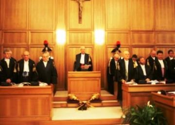 Aula Corte dei Conti (immagine d'archivio)