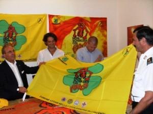 Premiazione Bandiera Bosco Sicuro 2010 (image STATO)