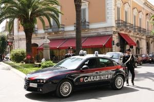 I Carabinieri di Andria in azione