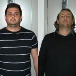 I due arrestati da parte del Comm.Cerignola (St)