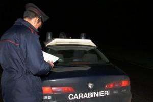 carabinieri notte (archivio, maremma.oggi)