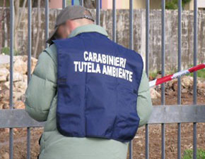 Sequestri carabinieri Noe (fonte image: tvoggisalerno - ARCHIVIO)