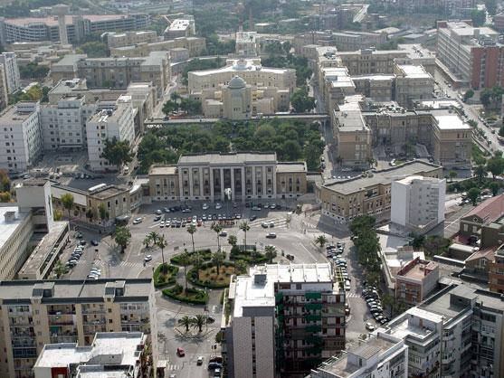 Panorama Policlinico di Bari (archivio)
