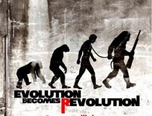 L'alba del pianeta delle scimmie - Poster