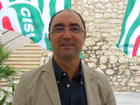 Il segretario generale della Cisl di Foggia Emilio Di Conza (stato@)