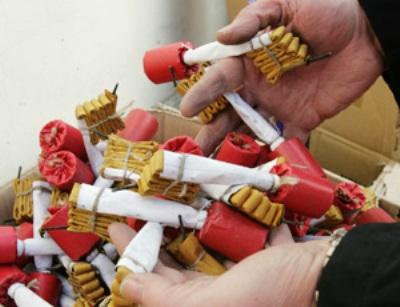Botti Capodanno (st - webinfor@) immagine d'archivio
