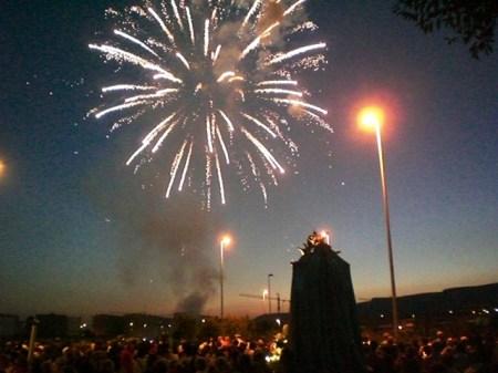 2009 Fuochi d'artificio in onore della Madonna del Carmine