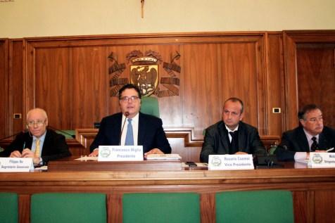 Una passata seduta di Consiglio provinciale a Foggia (archivio MAIZZI - 30.10.2014)