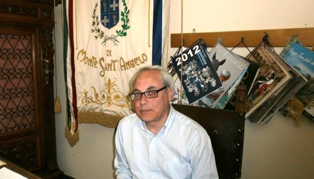 Il già sindaco di Monte Sant'Angelo ing. Antonio di Iasio (st)