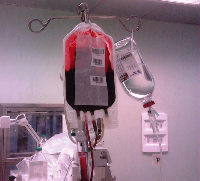Emotrasfusione (st) IMMAGINE D'ARCHIVIO, NON RIFERITA AL TESTO
