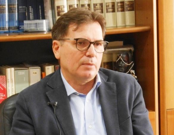 L'Avvocato Gaetano Prencipe, Pd Manfredonia (ph: Antonio Troiano)