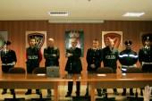 Conferenza stampa a Foggia, in seguito arresto per omicidio commerciante di Vieste (MAIZZI)