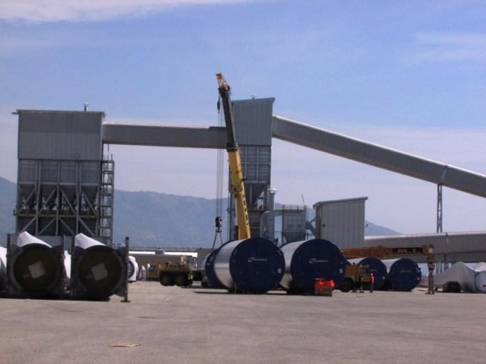Esterno Porto industriale (archivio)