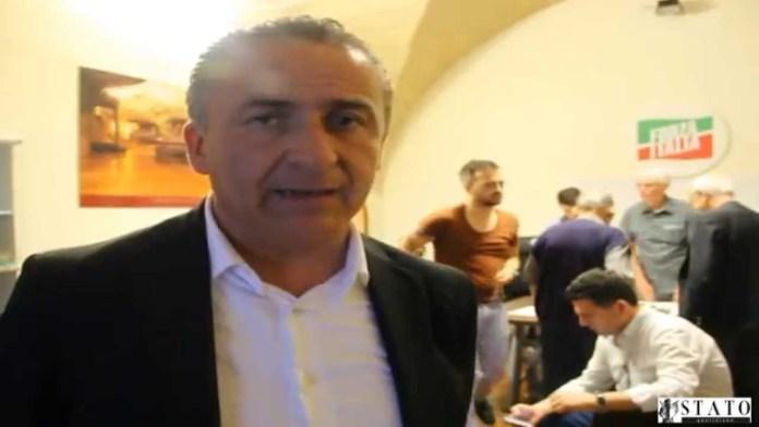Il consigliere regionale Giandiego Gatta (SQ)