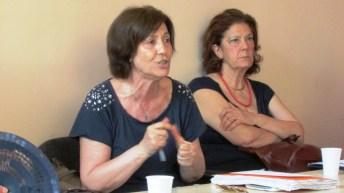 Un momento della conferenza stampa nel Centro Diurno Alda Merini (ph: benedetto monaco - 09.06.2015)
