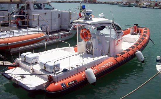 Capitaneria di Porto di Manfredonia, unità in mare (26.07.2015)