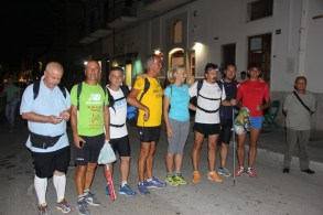 Gruppo cammino notturno Manfredonia-Vieste (SQ)