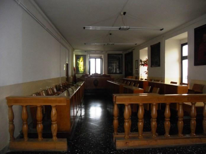 (aula Consiglio comunale Monte Sant'Angelo - AG IMMAGINE D'ARCHIVIO)