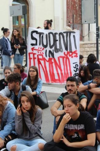 Passate proteste studenti (MAIZZI)