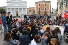 Passato sciopero studenti a Foggia